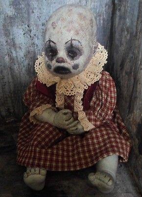OOAK-Horror-Sad-Zombie-Clown-Baby-Doll