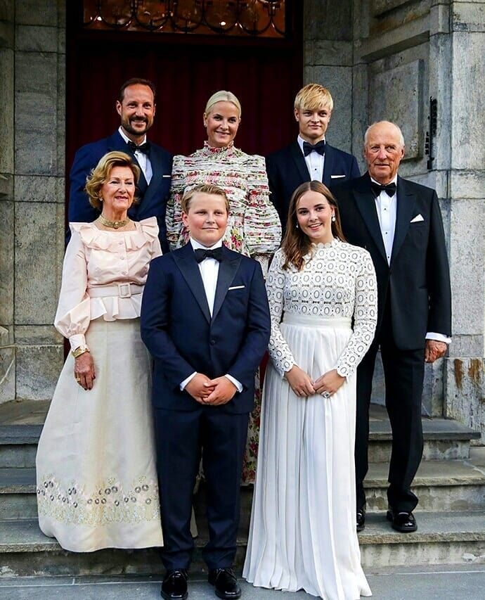 European Royal Families On Instagram On The Occasion Of Her Confirmation Princess Ingrid Alexandra Of Norway Norwegian Royalty Queen Dress Royal Family