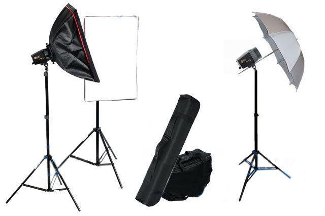Studio lighting  set 3x160 Price 216$ http://www.fotograficzneakcesoria.pl/studyjny-zestaw-oswietleniowy-mini-flash-kit-a-3x160-ws,id183.html