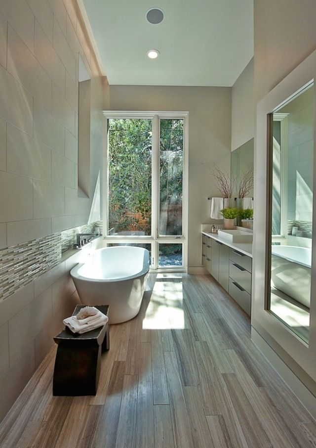 Diseno De Baños Largo:Bathroom Wood Floors That Look Like