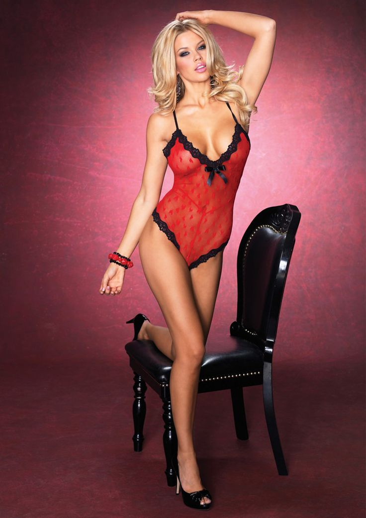 Leg Avenue Sweetheart Mesh Teddy LA-GB3808 £29.99  Sweetheart mesh teddy with criss cross back and scalloped lace trim. #legavenue #sexylingerie