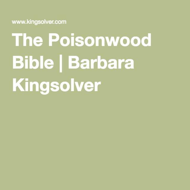 poisonwood bible essays