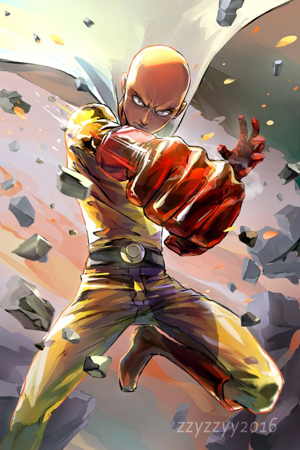 One Punch Man || Lord Saitama! Please read my review here: http://www.animedecoy.com/2016/06/onePUNCHman.html ~