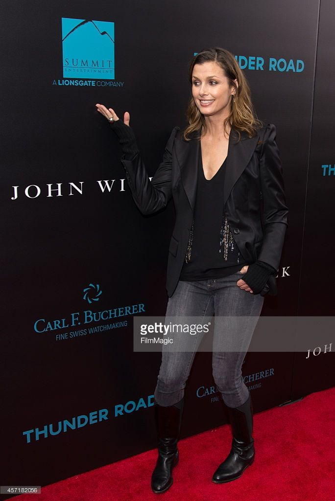 Actress Bridget Moynahan attends the 'John Wick' New York Premiere at the Regal Union Square Theatre, Stadium 14 on October 13, 2014 in New York City.