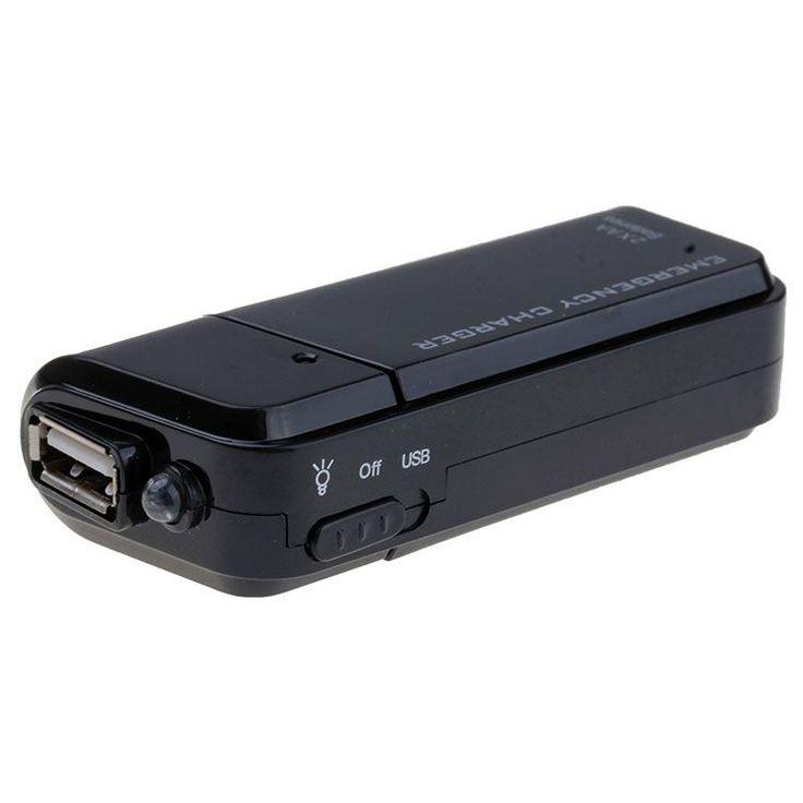 Мобильная зарядка для телефона от аккумуляторов или батареек АА, фото 1