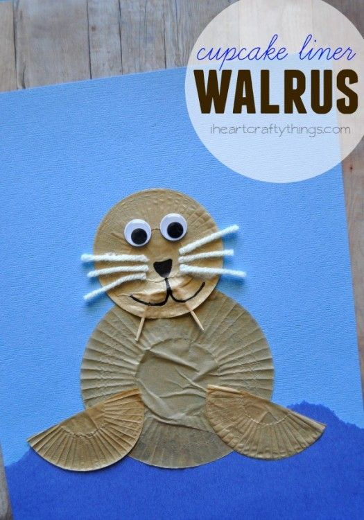 Walrus' are such awesome looking creatures aren't they? We made a Paper Plate Walrus a few years ago when my daughter was too young for crafting so the other day we decided to make one together out of cupcake liners. Oddly enough, you could easily take off the tusks and whiskers from this Walrus Craft and …