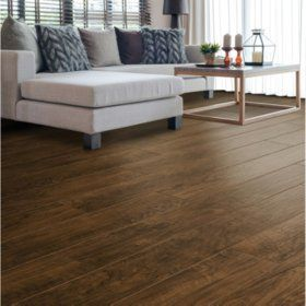 Sam's Club - Select Surfaces Mocha Walnut Laminate Flooring