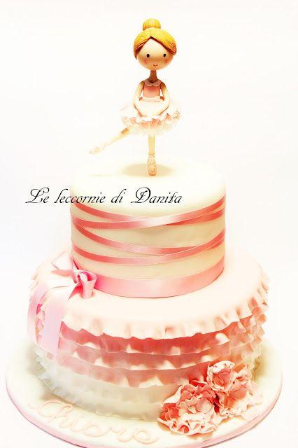 Le leccornie di Danita: Torta ballerina e dolcetti a tema