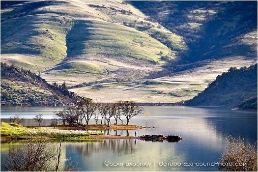 Emigrant Lake near Ashland in southern Oregon