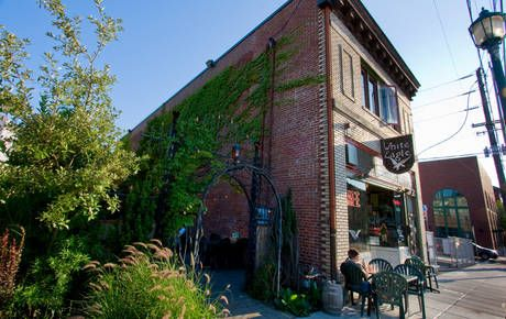 """The White Eagle Tavern located in Portland, Oregon is said to be one of the most haunted locations in the Northwest. Originally home of a brothel, legend has it that many men  were """"Shanghaied"""" in this building in the 1800's."""