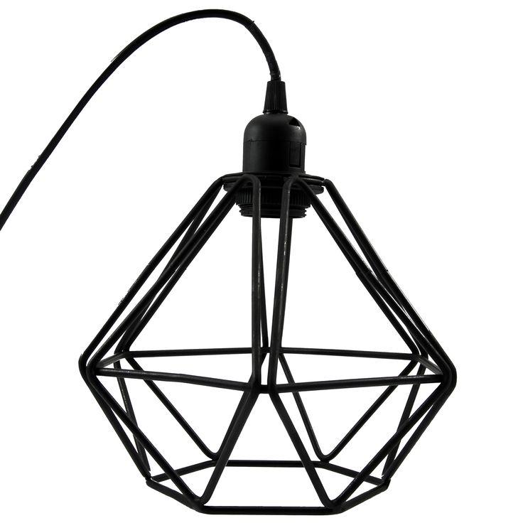 Lampe Grafisk sort, 399kr
