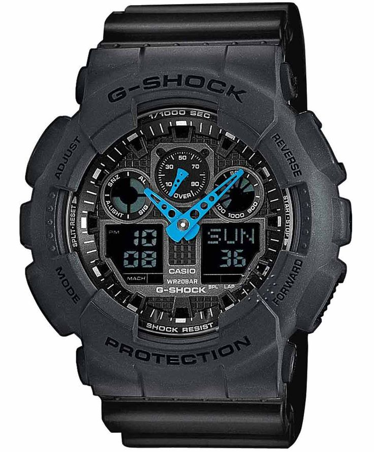 CASIO G-Shock Anadigi Black Rubber Strap Η τιμή μας: 118€ http://www.oroloi.gr/product_info.php?products_id=36491