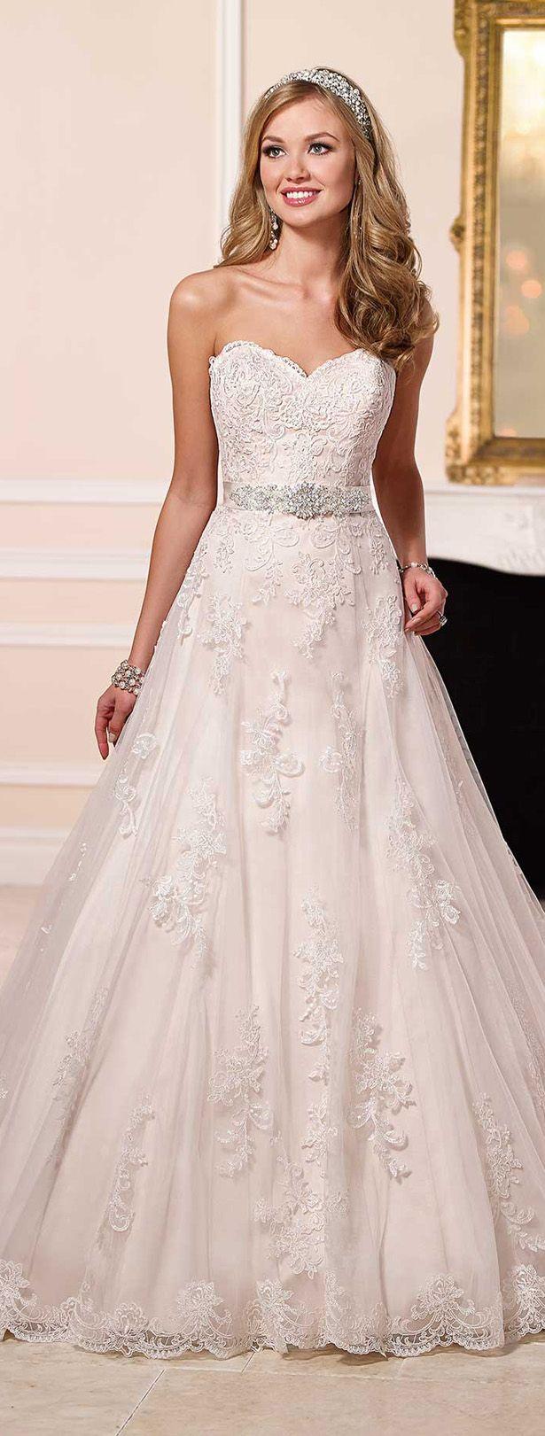 Stella York Spring 2016 Wedding Dress www.finditforweddings.com  Lace wedding dress