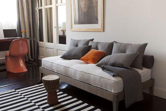 Small and Chic collection, linen fabrics of Les Créations de la Maison #GrupoLamadrid