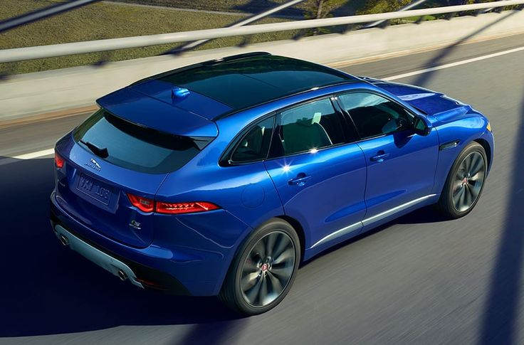 Based on the C-X17 crossover concept and inspired by the F-TYPE, discover the Jaguar F-PACE, a performance SUV with a luxurious interior finish.