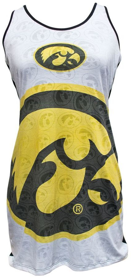 Women's Iowa Hawkeyes Cameo Nightgown
