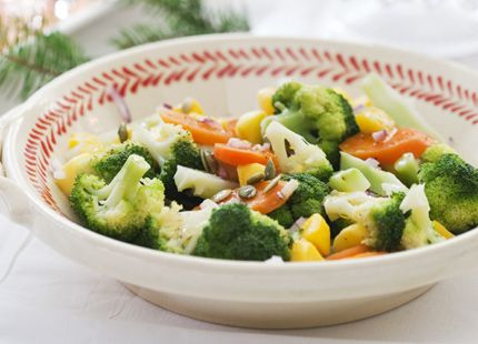 ljummen broccolisallad