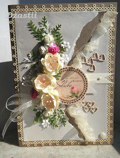 U Dżastii: Ślubna karteczka liftowa.