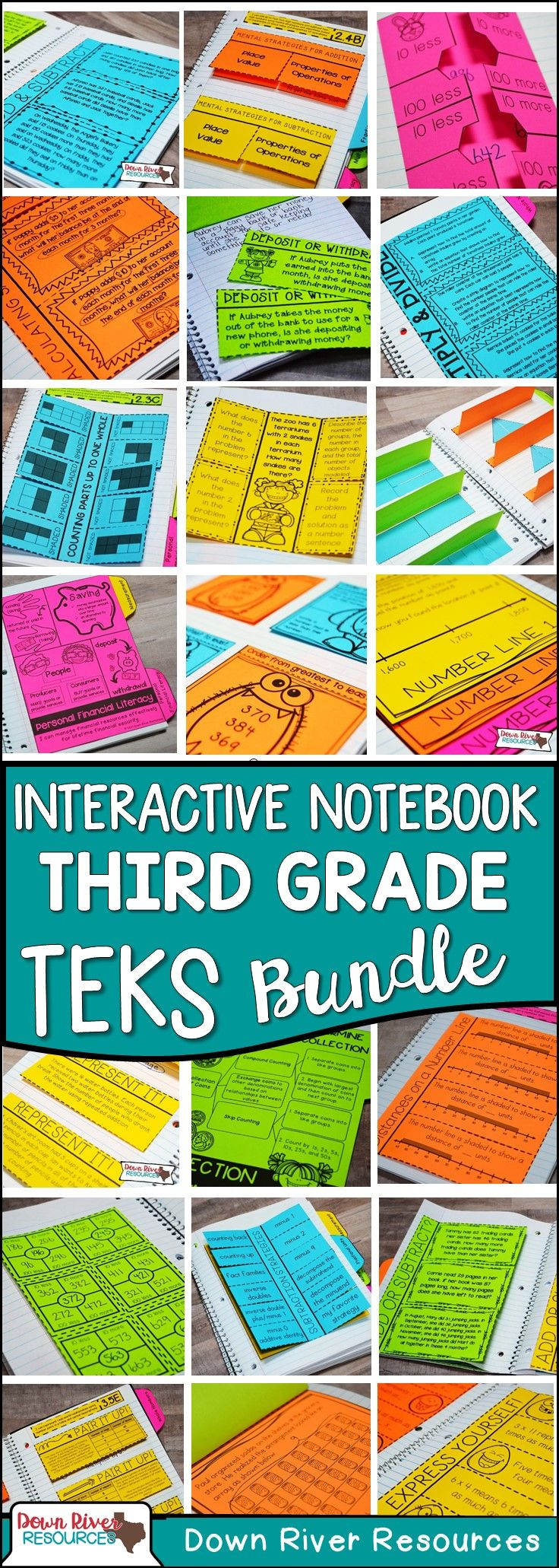 171 best Math journals images on Pinterest | Color by numbers ...