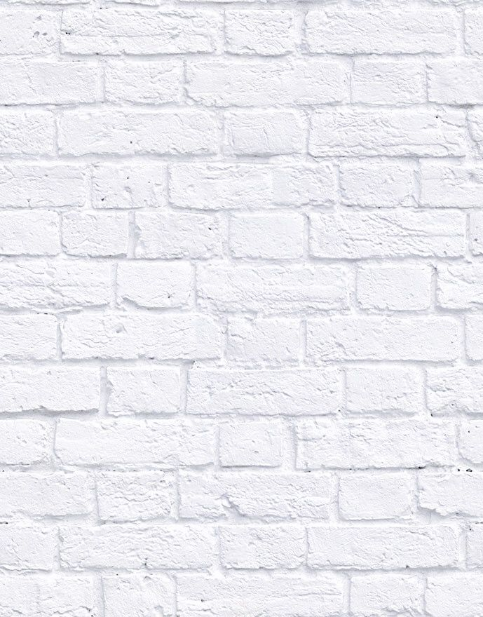 Soft White Bricks Boutique Faux Wallpaper Design By Milton King In 2021 White Iphone Background White Brick Background White Brick Wallpaper