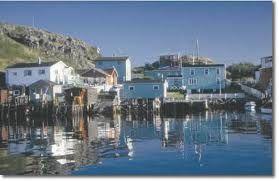 Petites, Newfoundland harbour