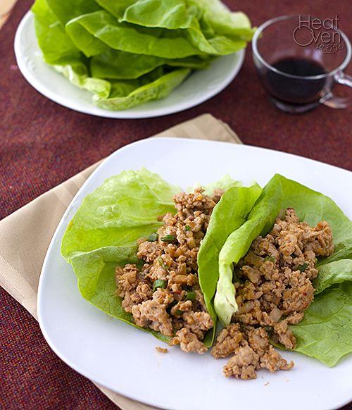 Lettuce Wraps on Pinterest | Lettuce wraps, Chicken lettuce wraps and ...