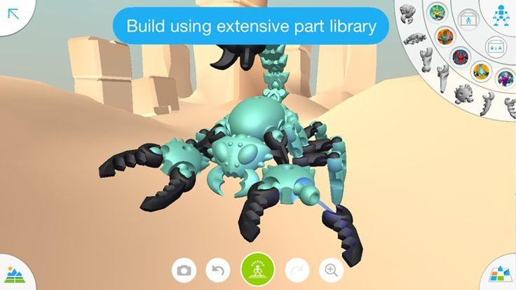 Autodesk Tinkerplay: app per la creazione di modelli 3D