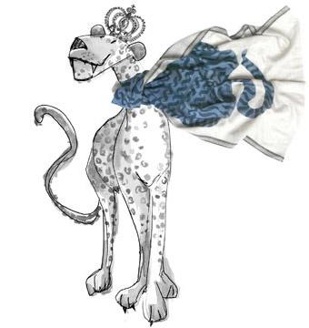 Foulard Tigre Inoui