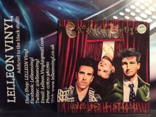 Crowded House Temple Of Low Men LP Album Vinyl Record EST2064 A1/B1 Pop 80's Music:Records:Albums/ LPs:Pop:1980s