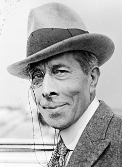 George Arliss (April 10, 1868 - February 5, 1946) British actor (o.a. in the Oscar winning movie 'Disraeli').