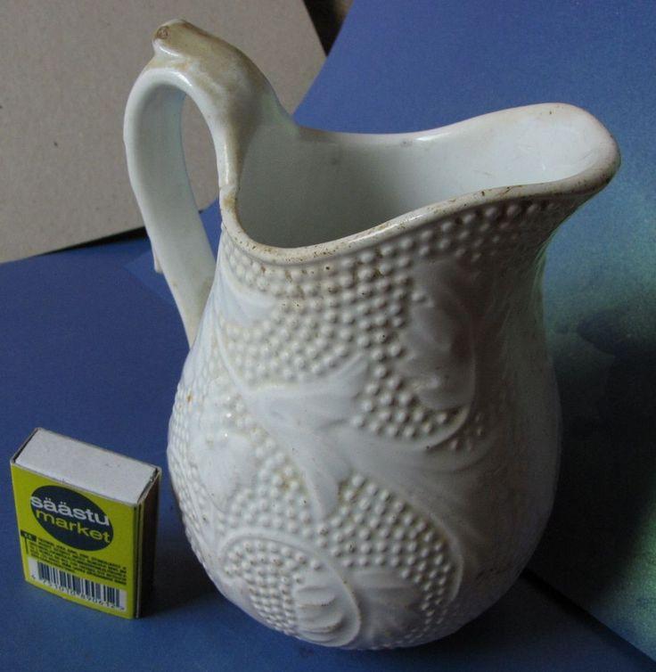 Antique Russian Empire Porcelain CREAMER Kuznetsov Kuznetsova KPM Dreylingsbusch #Kuznetsov
