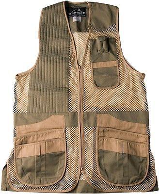 Vests 178080: Wild Hare Shooting Gear - Heatwave Mesh Vest, New Sage/Khaki, Multiple Sizes BUY IT NOW ONLY: $89.99