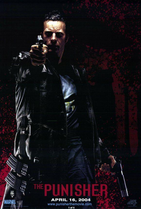 The Punisher 11x17 Movie Poster 2004 Punisher Film The Punisher
