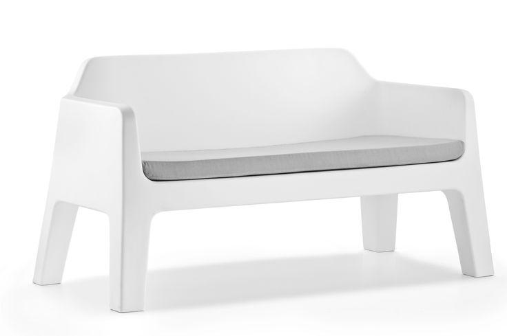 Canapé de jardin en polyéthylène PLUS AIR by PEDRALI design Alessandro Busana