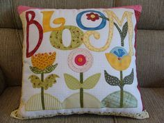 .BLOOM pillow