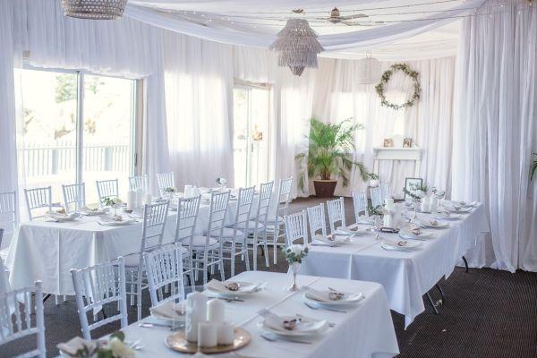 All white wedding reception      #wedding #weddingideas #aislesociety #bluewedding #australia