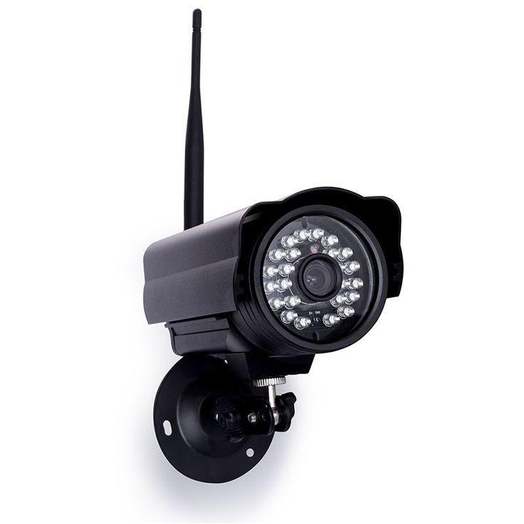 Mit dem sehr einfach installierbaren Plug-&-Play-System ist eine weltweite Überwachung Ihres Eigentums auf einfachste Weise möglich. Mit der automatischen Bewegungserkennung erhalten Sie eine Benachrichtigung per E-Mail, sobald jemand den Überwachungsbereich der Kamera betritt. Die Kamera ist sowohl an einem Kabel-Netzwerk (LAN) als auch drahtlos im WLAN betreibbar. Mit ihrem integrierten, weitreichenden IR-Scheinwerfer liefert sie auch nachts Bilder in HD-Auflösung. Hochwertiger CMOS-K...