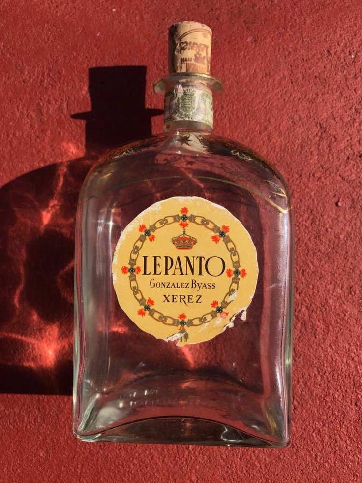 LEPANTO GONZALEZ BYASS XEREZ An empty bottle  #LEPANTO