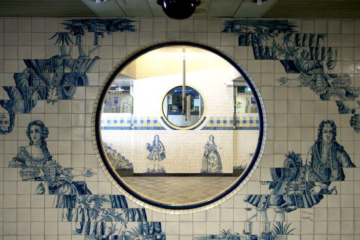 Lisboa - Metro station Campo Grande | Flickr - Photo Sharing!