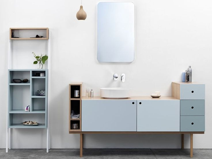 Mobile bagno modulare COLLAGE VANITY UNIT Collezione Collage by Ex.t | design Sigrid Strömgren