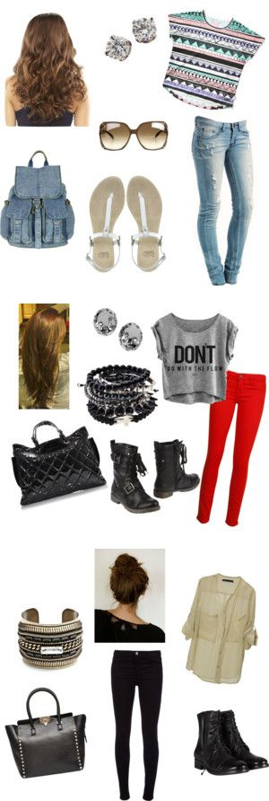 """""""Back to School Outfits"""" by jessieleigh16 on Polyvore"""