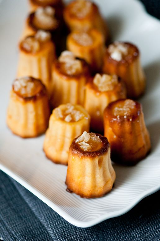 Hungry Rabbit – Ginger Nian Gao / Ginger Mochi Cannelés