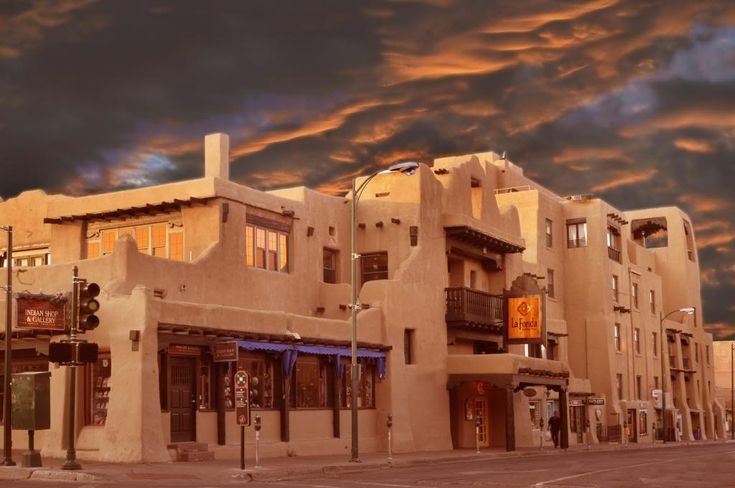 La Fonda, Santa Fe, NM photo LaFondaexterior_zpsbd15ad7a.jpg... I miss Santa Fe, maybe I'll go back someday...