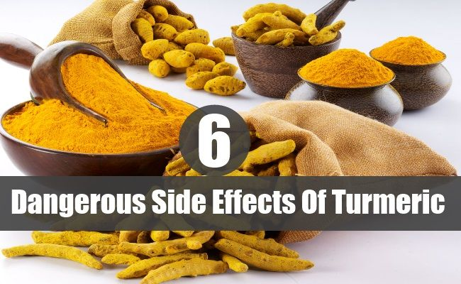6 Side Effects of Turmeric That You Should Know