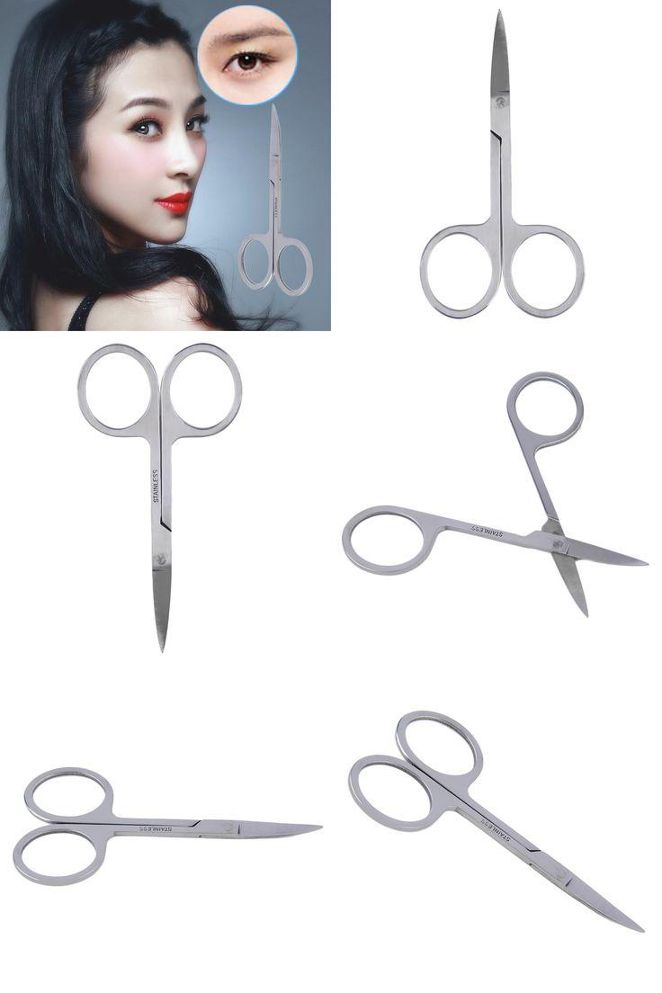 [Visit to Buy] 2016 Mini Stainless Steel Eyebrow Trimming Razor Scissor Shaper Shaver Travel Multi Purpose Pocket Hair Cut Shear Makeup Tools #Advertisement
