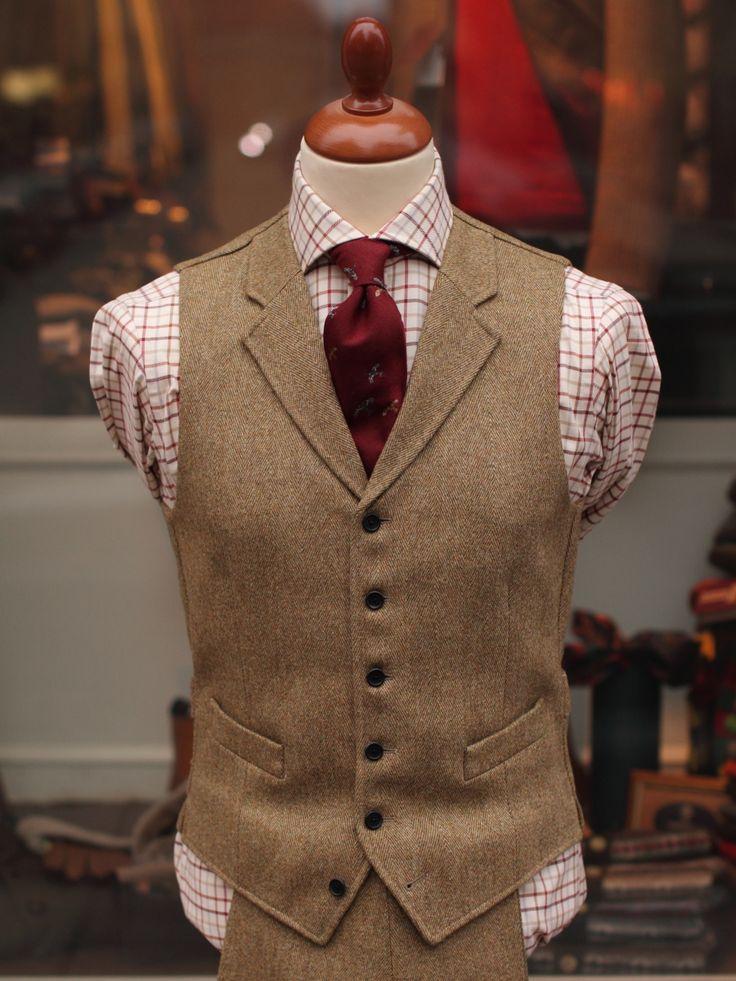 Bladen Lovat HB Tweed Waistcoat. Looks great, want this one.