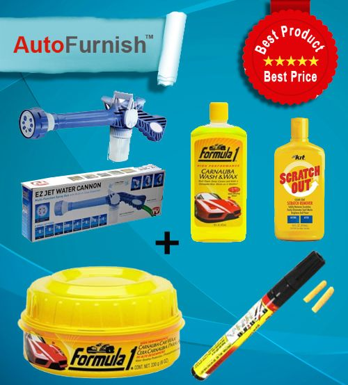 Get Full #Car #Cleaning Kit Only Rs. 749  #autofurnish Shop Now @ http://www.autofurnish.com/autofurnish-car-cleaner-all-in-one-combo-water-spray-gunpolishshampooscratch-penscratch-out