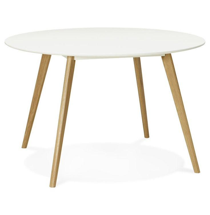 Les 25 meilleures id es concernant table ronde sur pinterest table ronde cu - Table ronde avec rallonge blanche ...