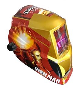 Awesome Iron Man welding hood from Lincoln Electric. Click to see more Avengers themed welding hoods.