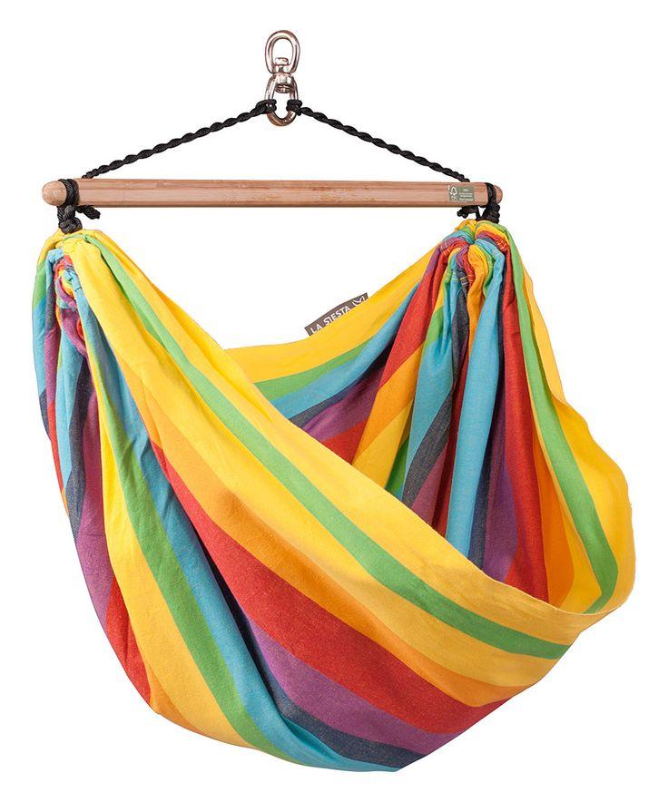 Look at this #zulilyfind! Rainbow Kids Hammock Chair by LA SIESTA #zulilyfinds